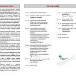 Brochure convegno La responsabilità degli opatori sanitari, pag.2