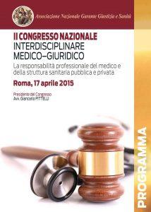 II Congresso nazionale Interdisciplinare Medico Giuridico