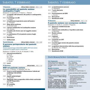 Convegno - X Congresso di Cardiogeriatria