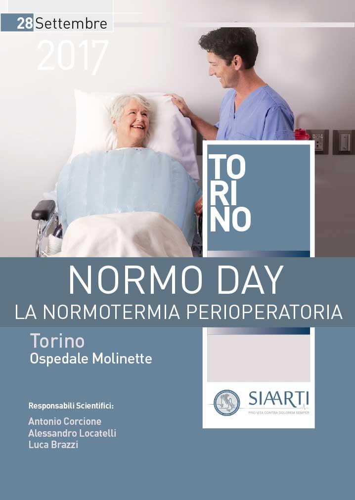 Locandima NORMO DAY, LA NORMOTERMIA PERIOPERATORIA, Torino 2017