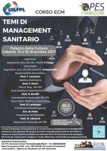 Temi di Managment Sanitario, Catania