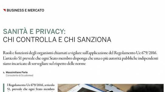 AboutPharma – Sanità e Privacy: chi controlla e chi sanziona