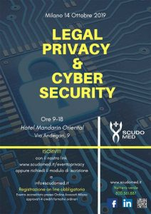 Evento Legal Privacy & Cyber Security