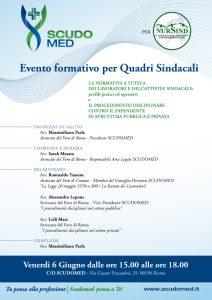 Locandina evento Scudomed 10052014