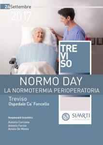 Locandina Evento Treviso NORMO DAY, LA NORMOTERMIA PERIOPERATORIA